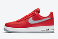 2020 Nike Air Force 1 Low Red Grey For Cheap Sale DD7113-600